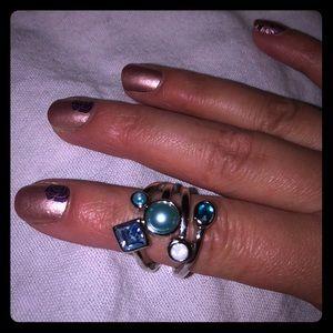 Lia Sophia sea colors ring